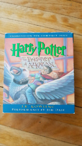 Harry potter book on tape