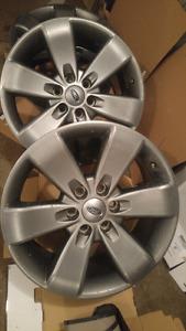 F150 fx4 wheels, 20s fits f150 2004 to current