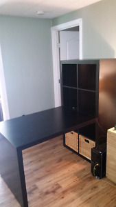 Beautiful IKEA Kallax desk! MUST GO!