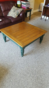 Set of 3 SOLID WOOD coffee tables by Lane Furniture