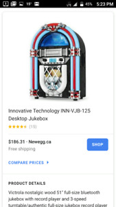 DEAL!!!! Brand New Jukebox (with box)