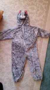 dress up  costume Grey cat size 18-24 months