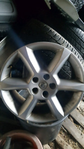 "18"" 5x114.3 ALLOY RIMS"