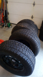 265/70R17 Winter Tires