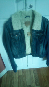 Brand New Hollister Jean jacket for$25