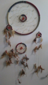 DREAM CATCHER WITH MINI CATCHERS ATTACHED