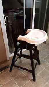 Summer solid wood High Chair