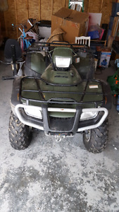 2005 Honda 500 Foreman quad for sale