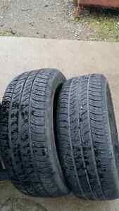 P225 60R16 Cooper tires for sale London Ontario image 1