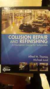 Collision repair and refinishing textbook London Ontario image 1