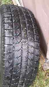 2 toyo winter's on 5 bolt ford rims London Ontario image 8