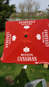Patio umbrella molson