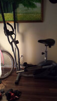 elliptical trainer with bycicle