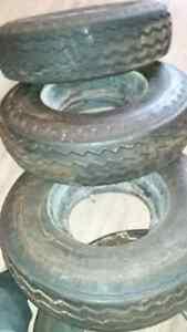 5 Galaxy Trailer Tires 8-14.5 LT Kingston Kingston Area image 2
