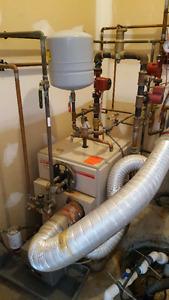 Kerr Oil Fired Boiler and Oil Tank