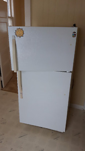 Two (2) White Refrigerators for Sale