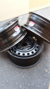 "HONDA OEM Steel Wheel Rims 16"" x 6 // Part # 42700 SOX A01"