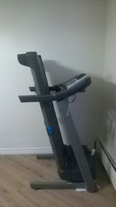 Free treadmill, bookcase and entertainment center