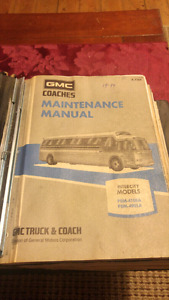 RARE Complete manual for 1976 GMC 4905 and 4108A models
