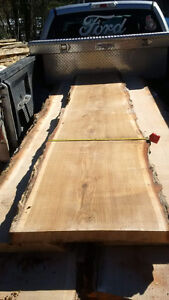 Live Edge White Oak