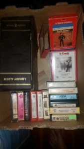 Great 8 track cassette tapes