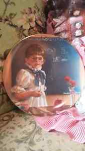 Reading, writing and. .. - Collector's Plate
