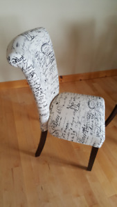 Scripted Chairs