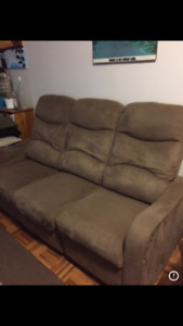 Double Lazy-boy couch - Great condition!