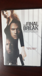 """Prison Break, The Movie"" dvd"