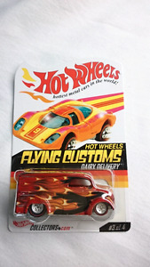 HOT WHEELS FLYING CUSTOMS DAIRY DELIVERY RLC CAR DIE CAST MINT
