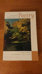 The Norton Introduction to Poetry (Ninth Edition)