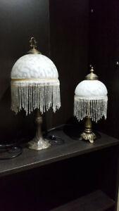 Set of 2 lamps $25