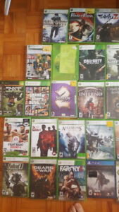 Xbox 360 Games + Dj Hero Controller +PS4 and PC Games