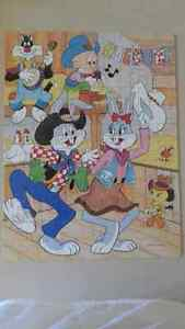RARE Looney Tunes BUGS BUNNY JIGSAW PUZZLE (100) VINTAGE