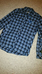 Under Armour M heavy flannel long sleeve shirt