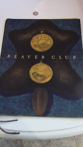 Beaver Club Menu, French and English, Montreal Kitchener / Waterloo Kitchener Area image 1