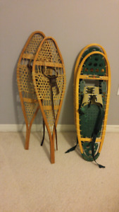 Adult Modern and Antique Snowshoes