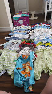 3 - 6 Months Boy Clothing Lot