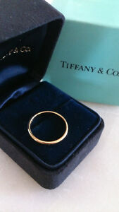 Bague en or TIFFANY gold ring