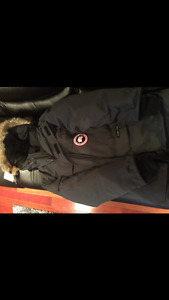 DARK GREY CANADA GOOSE EXPEDITION
