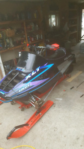 1995 xlt sks rolling chassis no motor