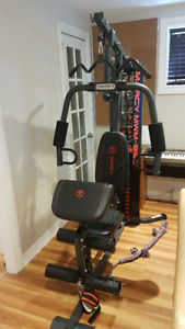 Bench press exerciseur Marcy multifonctions
