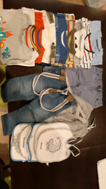 9-12mths boys clothing bundle