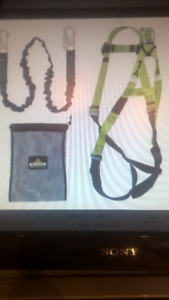 Contractor Fall Protection Kit - 6' (1.8) POY Lanyard - Safety H
