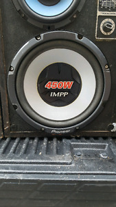 Car subs / amp