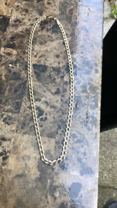 10k RCI yellow gold curb chain
