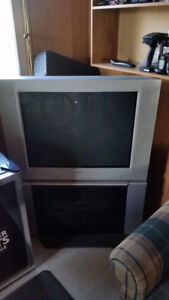 """Sony 32"""" TV with stand"""