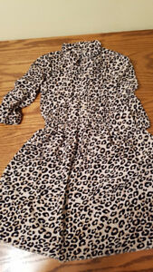 Animal print dress-size 10/12