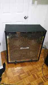 Krank 4x12 cabinet with eminence legends