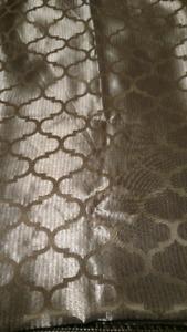 Gold rectangular tablecloth